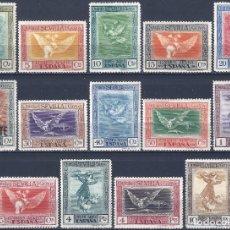 Sellos: EDIFIL 517-530 QUINTA DE GOYA EN LA EXPOSICIÓN DE SEVILLA 1930 (SERIE COMPLETA). MLH.. Lote 289432453