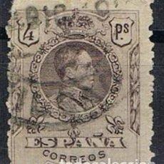 Sellos: 0977. SELLO 4 PTS ALFONSO XIII 1909, EDIFIL NUM 279 º. Lote 289592403