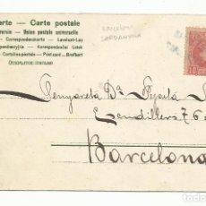 Sellos: POSTAL CIRCULADA 1902 DE SARDANYOLA A BARCELONA. Lote 289593668