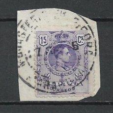 Sellos: ESPAÑA 1909 SELLO USADO - 15/60. Lote 289605958