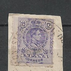 Timbres: ESPAÑA 1909 SELLO USADO - 15/60. Lote 289606113