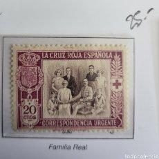 Sellos: SELLO DE ESPAÑA 1926. CRUZ ROJA ESPAÑOLA. 20 CTS. EDIFIL 338. NUEVO.. Lote 289702778