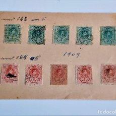 Sellos: 1909 SELLOS STAMP VARIOS. Lote 292385948