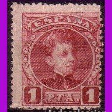 Sellos: 1901 ALFONSO XIII, TIPO CADETE, EDIFIL Nº 253 (*). Lote 294091903