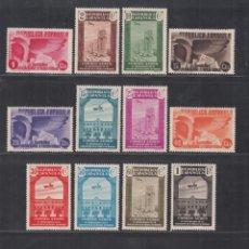 Selos: ESPAÑA.1936 EDIFIL Nº 711 / 725 /*/, ANIVERSARIO ASOCIACIÓN DE LA PRENSA.. Lote 294092658