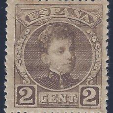 Sellos: EDIFIL 241 ALFONSO XIII. TIPO CADETE. 1901-1905. VALOR CATÁLOGO: 6 €. MH * (SALIDA: 0,01 €). Lote 294372188