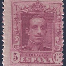 Sellos: EDIFIL 312 ALFONSO XIII. TIPO VAQUER 1922-1930. MNH **. Lote 294483533