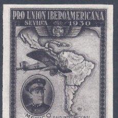 Sellos: EDIFIL 586ER PRO UNIÓN IBEROAMERICANA 1930 (VARIEDAD...579 EN REVERSO). V. CAT. ESP.: 115 €. MNH **. Lote 295588238
