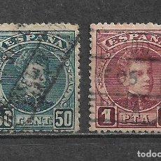 Sellos: ESPAÑA 1901 EDIFIL 252 + 253 USADO - 5/27. Lote 295924058