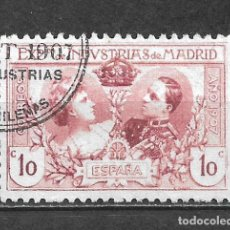 Sellos: ESPAÑA 1907 EDIFIL SR 1 USADO REIMPRESION - 5/28. Lote 295973343