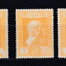 Sellos: 1930 EDIFIL 499** 5 SELLOS NUEVOS SIN CHARNELA. QUINTA DE GOYA (1219). Lote 296013628