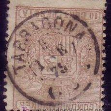 Sellos: ESPAÑA. (CAT. 153). 10 CTS. MAT. FECHADOR DE * TARRAGONA/(46) *. BONITO.. Lote 23219500