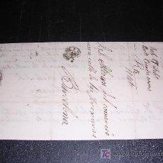 Sellos: CARTA BARCELONA A VICH 1870. Lote 5517587