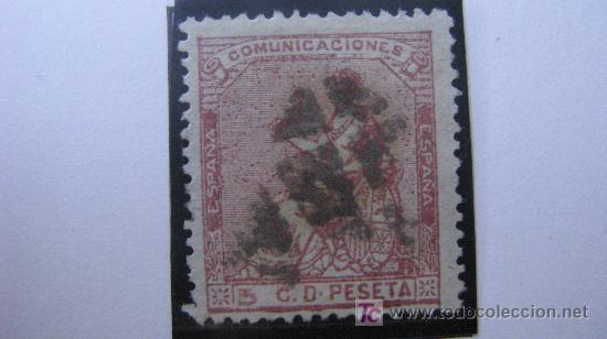 1873 ALEGORIA DE LA I REPUBLICA EDIFIL 132 (Sellos - España - Amadeo I y Primera República (1.870 a 1.874) - Usados)
