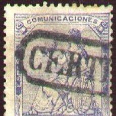 Sellos: EDIFIL 137 CERTIFICADO. Lote 19118009