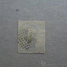 Sellos: ESPAÑA,1872,AMADEO I,EDIFIL 122,MATASELLO ROMBO DE PUNTOS. Lote 21480908
