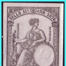 Sellos: FISCALES 1876 PAPEL TIMBRADO, ALEMANY Nº 61 (O). Lote 24813726