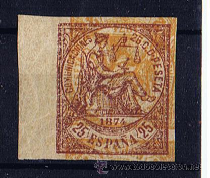 I REPUBLICA 1874 EDIFIL 147 NUEVO* VALOR 2010 CATALOGO 85 EUROS SIN DENTAR (Sellos - España - Amadeo I y Primera República (1.870 a 1.874) - Nuevos)