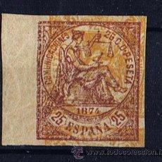 Sellos: I REPUBLICA 1874 EDIFIL 147 NUEVO* VALOR 2010 CATALOGO 85 EUROS SIN DENTAR. Lote 28004699