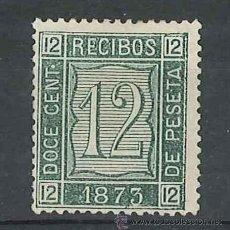 Sellos: RECIBOS FISCAL POSTAL 1873. Lote 30036267