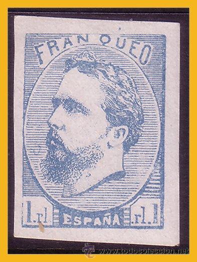 1873 CARLOS VII, EDIFIL Nº 156AF (*) (Sellos - España - Amadeo I y Primera República (1.870 a 1.874) - Nuevos)