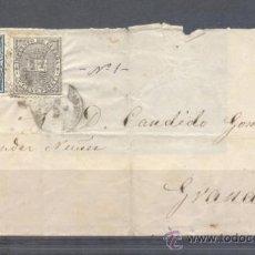 Sellos: 1874.- CUEVAS DE VERA (ALMERÍA) A GRANADA. Lote 31681450