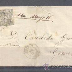 Sellos: 1874.- CUEVAS DE VERA (ALMERÍA) A GRANADA. Lote 31681827