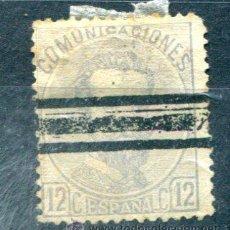 Sellos: EDIFIL 122. 12 CENT AMADEO I. AÑO 1872. BARRADO. . Lote 34601522