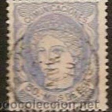 Sellos: SELLO ESPAÑA EDIFIL 107 AÑO 1870 EFIGIE ALEGORICA DE ESPAÑA USADO . Lote 37003477
