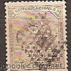 Sellos: SELLO ESPAÑA I REPUBLICA EDIFIL 135 AÑO 1873 CORONA MURAL Y ALEGORIA ESPAÑA USADO . Lote 37438173
