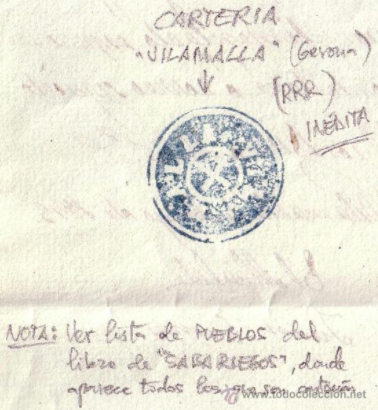Sellos: MARCA DEL INTERIOR DE LA CARTA. - Foto 3 - 25499639