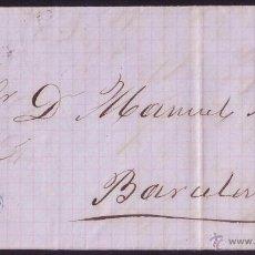Sellos: ESPAÑA.(CAT.133).1873.CARTA DE CHERTA (TARRAGONA) A BARCELONA.CIRCULADA PRIVADAMENTE.MAT. DESTINO.RR. Lote 25704880