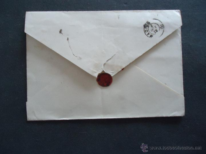 Sellos: FILATELIA GALICIA. CARTA. SELLO DE 12 CTS. AMADEO I. CORUÑA MADRID. MATASELLO ROMBO - Foto 2 - 41075103