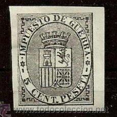 Sellos: IMPUESTO DE GUERRA 1874 EDIFIL 141 NUEVO(*) VALOR 2013 CATALOGO 12.-- EUROS . Lote 41286745