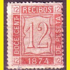 Selos: FISCALES 1874 SELLOS PARA RECIBOS, ALEMANY Nº 20 *. Lote 44348977