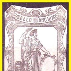 Selos: FISCALES 1874 PAPEL SELLADO, ALEMANY Nº 139 (O). Lote 45156573