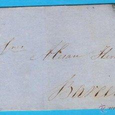 Sellos: 1862 CUEVAS DE VERA (ALMERIA) A BARCELONA. Lote 47679121