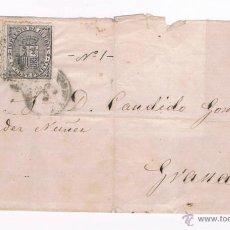 Sellos: 1874 CUEVAS DE VERA (ALMERIA) A GRANADA. Lote 47698351