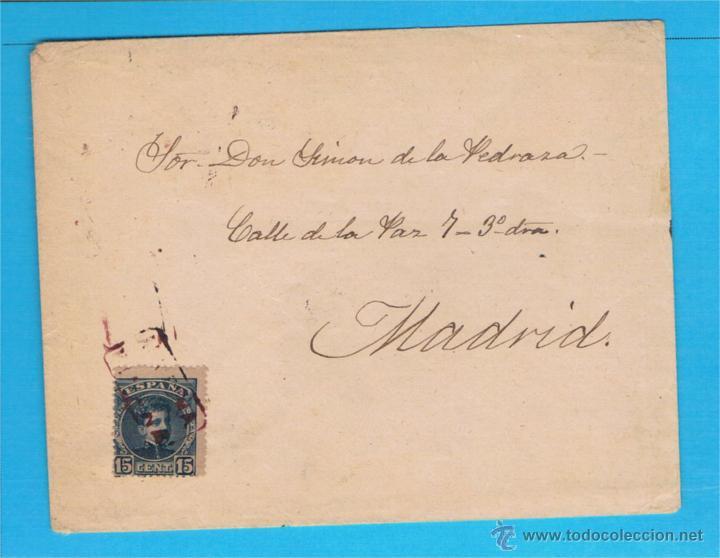 FIÑANA (ALMERIA) A MADRID EDIFIL 244 (Sellos - España - Amadeo I y Primera República (1.870 a 1.874) - Cartas)