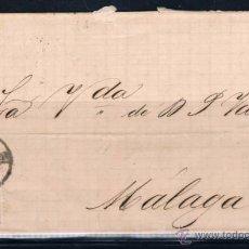 Sellos: 1870 BARCELONA A MALAGA. Lote 49354796