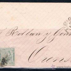 Sellos: 1874 BARCELONA A ORENSE. Lote 49355692