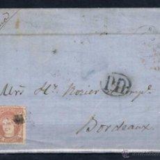 Sellos: 1872.- BURGOS A BURDEOS (FRANCIA). Lote 50603048
