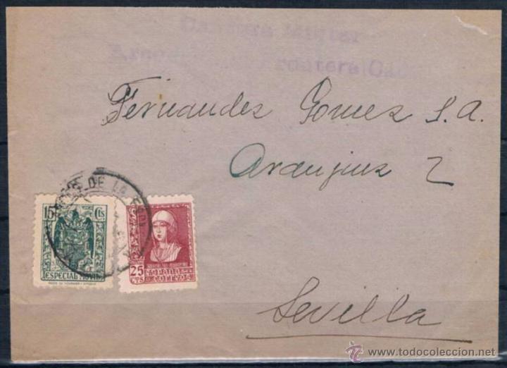ARCOS DE LA FRONTERA A SEVILLA (Sellos - España - Amadeo I y Primera República (1.870 a 1.874) - Cartas)