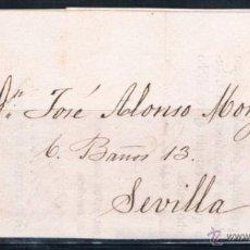Sellos: 1870.- ENVUELTA A SEVILLA. Lote 53121081