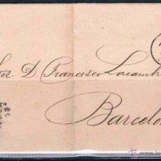 Sellos: 1870.- SEVILLA A BARCELONA. Lote 53121594