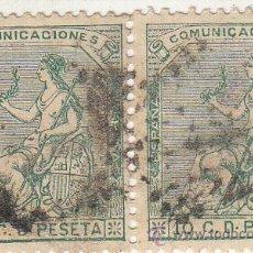 Sellos: EDIFIL 133 (PAREJA)., MATº ROMBO DE PUNTOS . . Lote 53862415