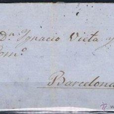 Sellos: 1870.- PAMPLONA A BARCELONA. Lote 54928060
