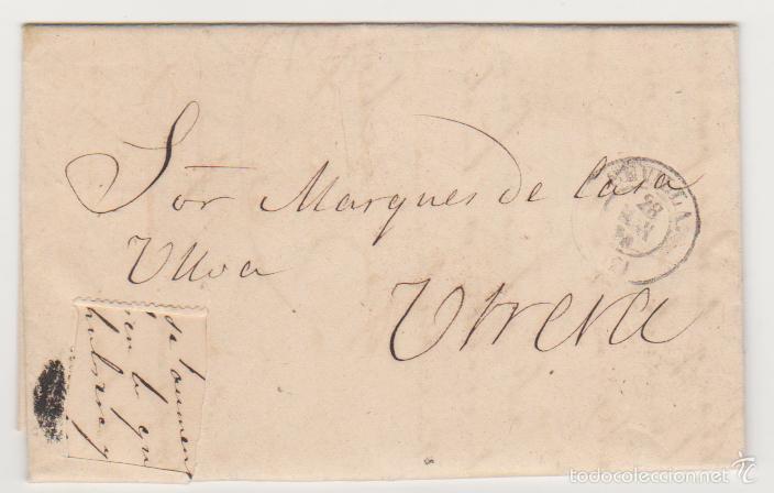 CARTA DE SEVILLA A UTRERA DEL 28 MAYO 1870. FRANQUEO CORTADO. FECHADOR DE SEVILLA. Y AL DORSO- (Sellos - España - Amadeo I y Primera República (1.870 a 1.874) - Cartas)
