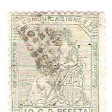 Sellos: EDIFIL 133 ALEGORIA DE ESPAÑA. Lote 58335472