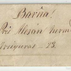 Selos: CIRCULADA Y ESCRITA 1870 DE FIGUERES GIRONA A BARCELONA. Lote 58410565